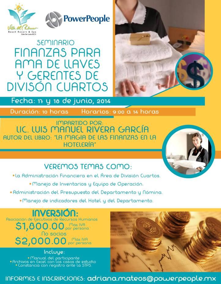 SEMINARIO FINANZAS AMA DE LLAVES - LOS CABOS - JUNIO 2014
