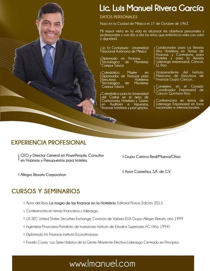CV LUIS MANUEL RIVERA